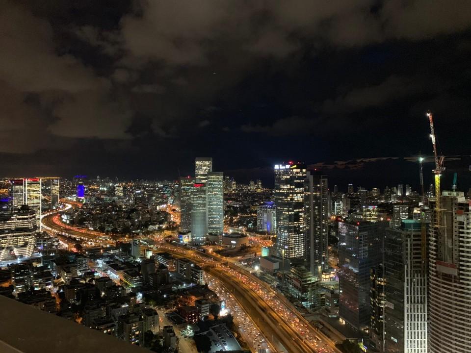 מבט ממגדל השחר גבעתיים